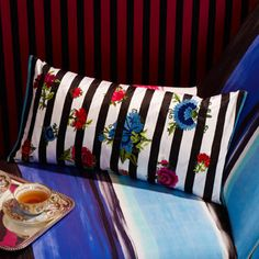 "Christian #Lacroix ""sol y sombra"" throw #pillow #cushion"