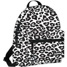 Yak Pak White Snow Leopard Deluxe Backpack Bag YAK PAK,