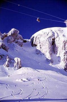 Jackson Hole, Wyoming.. I remember riding the Tram & skiing it was such an awesome experience..