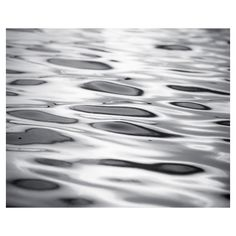 Black and White Abstract Photography water ripples ocean sea grey gray... (135 ILS) ❤ liked on Polyvore featuring home, home decor, wall art, grey home decor, beach wall art, photo wall art, sea wall art and photography wall art