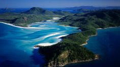 Most beautiful place I've ever been... Whitsunday Islands in Australia... Can't wait to someday go back!