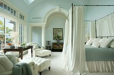 good wall color for bedroom - peaceful sleeping..
