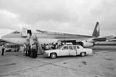 led zeppelin #private jet #1973