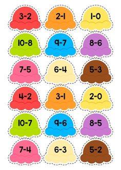 Summer math centers for kindergarten education - math матема Kindergarten Centers, Preschool Learning, Math Centers, Teaching, Kids Math Worksheets, Kids Learning Activities, Sorting Activities, Christmas Math, Math For Kids