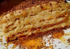 Торт «Крем-брюле». Готовим дома вкусный торт «Крем-брюле». Простой рецепт приготовления торта «Крем-брюле». Как самому приготовить торт крем-брюле.