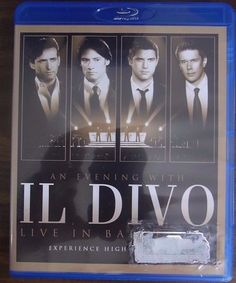 An Evening with Il Divo: Live in Barcelona [Blu-Ray] by Il Divo (Blu-ray Disc, N