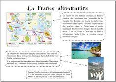 La France d'Outre-mer ou France ultramarine – la maîtresse a des yeux dans le dos