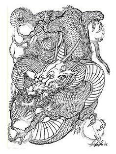 Japanese Dragon 여러가지 용도안들..용 이레즈미 :: 네이버 블로그