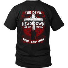 """...Then I Said Amen"" Shirts"