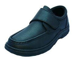 acf543d42989 Details about Mens Boys Dr Keller   Texas   Leather Black Comfort ...