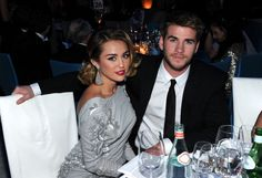 Miley looks very classy while Liam... very nice ;)
