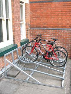 bike stand wheel gutter - Google Search