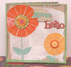 Hello - DT Leeann Pearce by the paint brush goes spottie, via Flickr