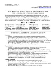 resume accounting manager converza co