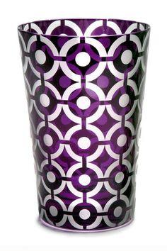 Polka Dots Tumbler Purple