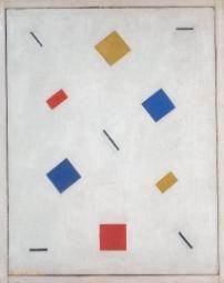 Leck, Bart van der, (1876-1958), Composition, 1918, Oil