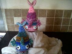 My little fish hats creations