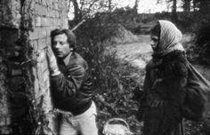 Roman Polanski & Nastassja Kinski on the set of 'Tess'. Photo by Bernard Prim.