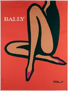 Bally (jambes de femmes) - 1956