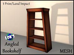 *Lok's* Angled Bookshelf (Mesh)