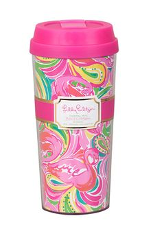Lilly Pulitzer Thermal Mug- All Nighter #accessories #drinkware #gift #home #lilly-pulitzer #new #spring-break #under-40