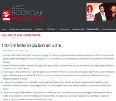 """""""Ophelia did not drown"""" among the best 10 movies of the year inspired by literary characters, according to film magazine BookCiak.   link: http://www.bookciakmagazine.it/10-film-letterari-piu-belli-del-2016/"""