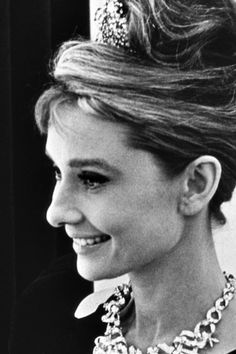 Audrey Hepburn in a publicity still of Breakfast at Tiffany's, released in 1961.