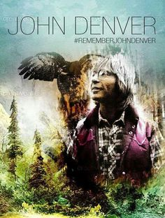 Create poster art to commemorate John Denver, the great singer-songwriter and two-time Grammy Award winner. John Denver, Aspen, Sunshine Music, Colorado, David Archuleta, Country Boys, American Country, Country Music Stars, Star Pictures