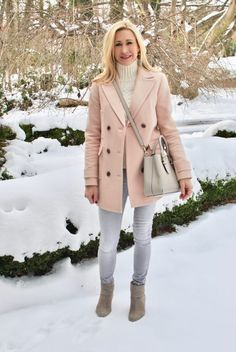 Pink Coat and Green