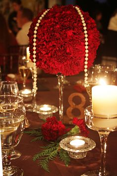 Valentines Day Wedding Centerpiece Diamond Candle For Best Design Your Party In Valentine