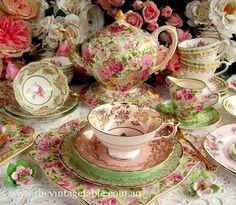 So beautiful tea seat