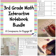 You can now buy all of my Interactive Notebooks for the Engage NY Math series for third grade. I have bundled all seven of the individual modules in one place for your convenience. Plus, you will save money! By buying the bundle, you are saving over 25% of the cost of purchasing the modules separately.What's Included?