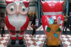 The Christmas Owl by The Big Hoot, Birmingham