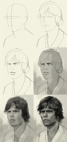 How to Draw Luke Skywalker...if they have this Maybe I can Hayden Christensen's Anakin!