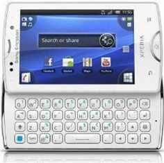 Sony Ericsson Xperia Mini Pro SK17i Unlocked GSM Android Smartphone--International Version with No US Warranty (White) - For Sale