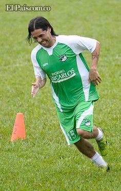 Hugo Droguett jugará su primer clásico con Deportivo Cali en el Pascual