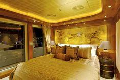 """Lurssen Yachts 224' """"Kismet"""" - VIP Suite"""