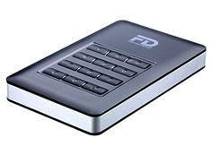 The 1TB Fantom Drives DataShield SSD has secure 256-bit AES encryption and a numeric keypad to protect the drive with a passcode.