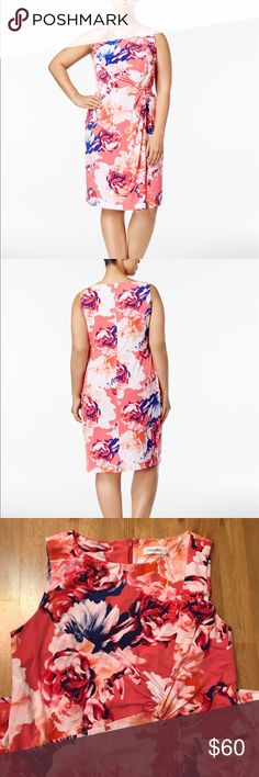 Plus size flora sheath dress Jersey dress. Not from MK, for views only. From Calvin Klein Michael Kors Dresses Midi