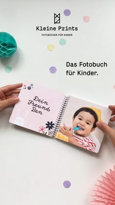 The photo book for children-Das Fotobuch für Kinder Great gift from 12 months! 💜 The photo book for children from Kleine Prints 😍 Many magical designs, high-quality material especially for children's hands. Perfect for daycare and learning by name! Diy Furniture Videos, Diy Furniture Couch, Diy Furniture Plans, Diy Gifts, Great Gifts, Invisible Stitch, Diy Clothes Videos, Kids Hands, Clothing Hacks