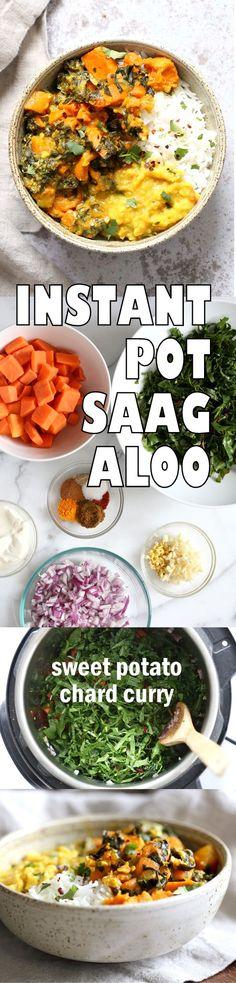 Instant Pot Saag Alo