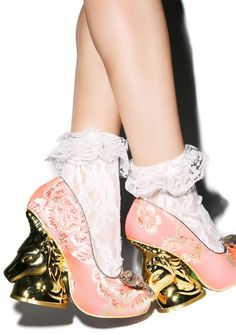 Not my style to wear, but would love to display them as a work of art.  Irregular Choice Trixy Heel | Dolls Kill