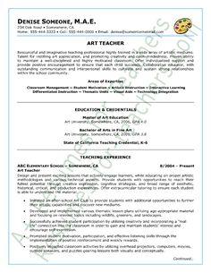 46 Best Teacher Resumes Images Teacher Resume Template Teacher