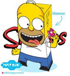 Oh pinaise ! Nous n'avions encore jamais publié le papertoy d'un Simpson ! Voilà qui est chose faite avec ce papercraft d'Homer, manufacturé par le prolifique Vic Matos, du fameux site Rabisco Pop. A télécharger avec gourmandise en lisant laLire la suiteHomer Simpson en Papertoy