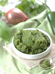 Vegan Green Curry Paste