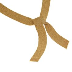 18 karat gold scarf necklace