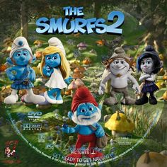 The Smurfs 2, Layout, Christmas Ornaments, Digital, Holiday Decor, Design, Page Layout, Christmas Jewelry