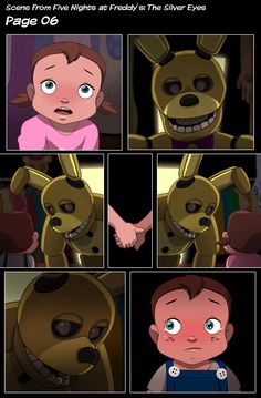 Kidnapping of Sammy pt:6 Five nights at Freddy's the silver eyes