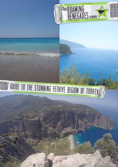 A guide to the Fethiye region of Turkey: Oludeniz, Hisaronu, Kaya. A beautiful, historic paradise > http://theroamingrenegades.com/2016/10/guide-fethiye-turkey-oludeniz-hisaronu.html