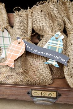 Fishing Party Favours